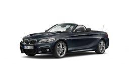Nieuwe wagens BMW 2 Cabrio manueel