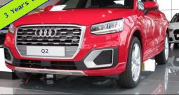 Nieuwe wagens Audi Q2 manueel