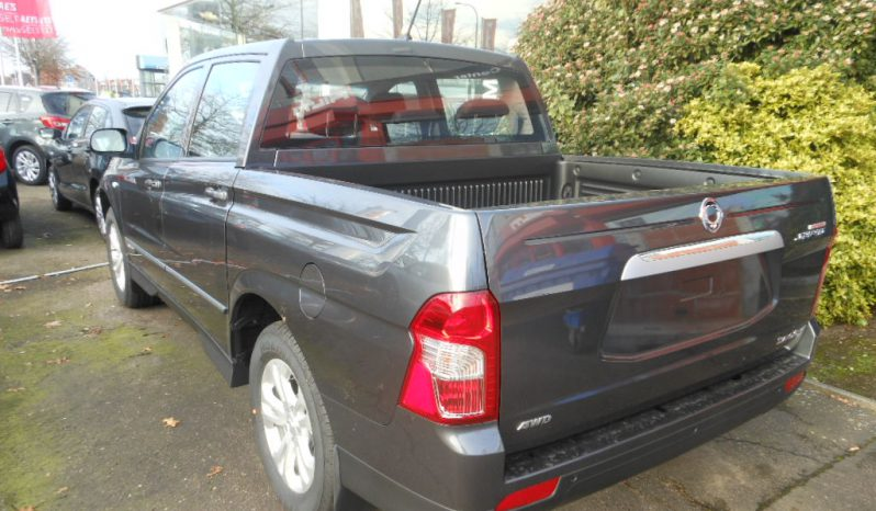 Nieuwe wagens SsangYong Actyon Sports manueel full
